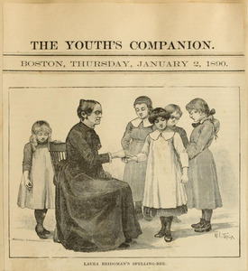 Laura Bridman's Spelling-Bee, The Youth's Companion, 1890