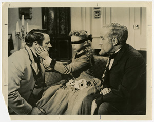 "Still from ""The Key"", a movie about Laura Bridgman and Samuel Gridley Howe, 1957"