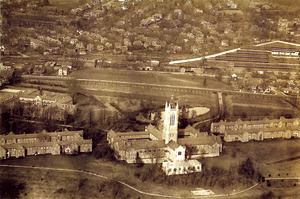 Aerial View of the Perkins School for the Blind