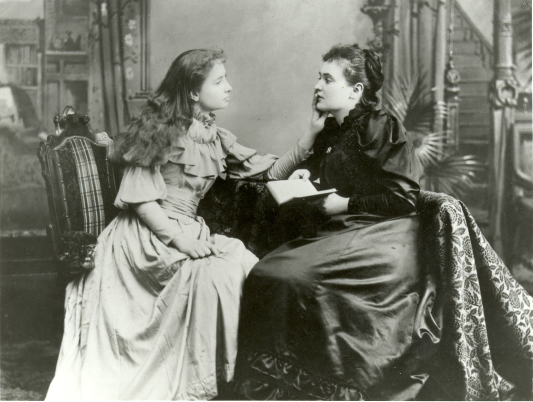 Helen Keller and Anne Sullivan Portrait