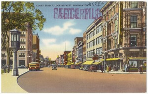 Court Street, looking west, Binghamton, N. Y.