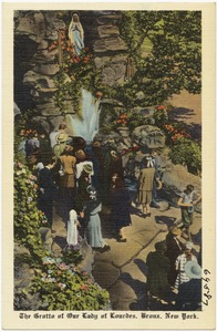 The Grotto of Our Lady of Lourdes, Bronx, New York