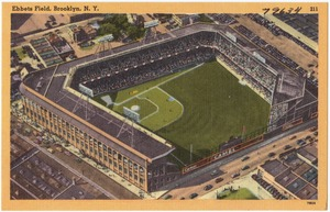 Ebbets Field, Brooklyn. N. Y.