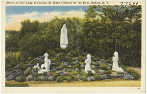 Shrine of Our Lady of Fatima, St. Mary's School for the Deaf, Buffalo, N. Y.