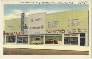 Great Lakes Motor Corp., 2359 Main Street, Buffalo, New York