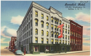 Benedict Hotel 199-203 Washington St., Buffalo 3, N. Y.