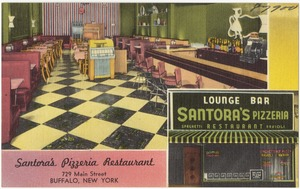 Santora's Pizzeria Restaurant. 729 Main Street, Buffalo, New York