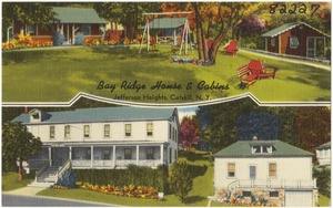 Bay Ridge House & Cabins, Jefferson Heights, Catskill, N. Y.