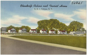 Olendorf's Cabins and Tourist Home, R. D. 1, Cohoes, N. Y.
