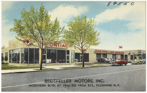 Breitfeller Motors, Inc. Northern Blvd. at 191st to 192nd Sts., Flushing, N. Y.