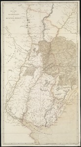 A map of part of the Viceroyalty of Buenos Ayres 1806