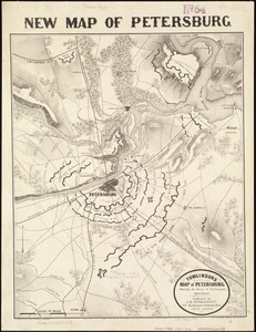 Tomlinsons map of Petersburg