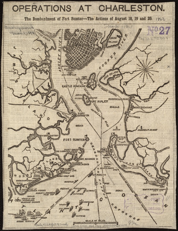 Operations at Charleston