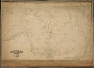 A Map of Methuen, Mass