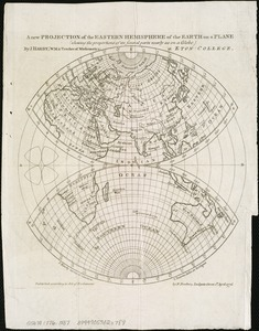 A new projection of the Eastern Hemisphere of the earth on a plane