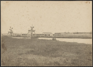 Old saltworks, 1850-1860, South Dartmouth, Mass.