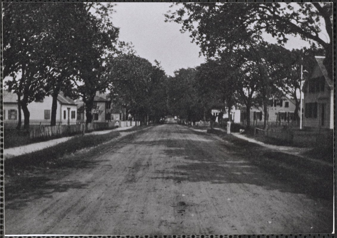 414 Old King's Highway, Yarmouth Port, Mass. looking east