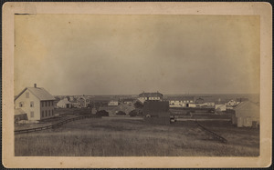 Hyannisport, Mass., looking east from Sunset Hill