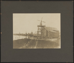 Salt mills on Bass River owned by Tamsen Gifford