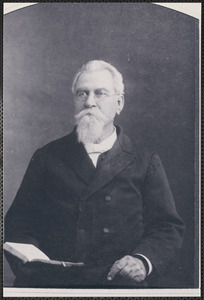 "Dr. Lewis B. Bates, minister at the ""Old Methodist"" about 1852"