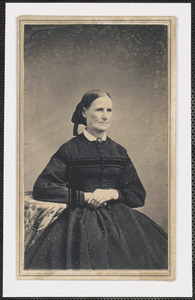Mrs. Bowdish, wife of Rev. L. Bowdish, Methodist minister, South Yarmouth, Mass.