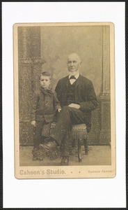 David Kelley (1809-1903) and grandson Ralph Kelley (1883-1956)
