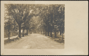 Old King's Highway, Yarmouth Port, Mass. near Lyceum Hall