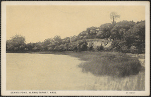 Dennis Pond, Summer Street, Yarmouth Port, Mass.