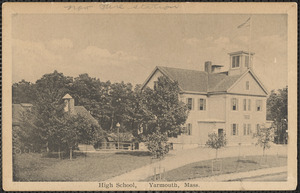 High School, 336 Old King's Highway, Yarmouth Port, Mass. where fire station now stands