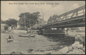 Bass River Bridge from south shore, South Yarmouth, Mass.