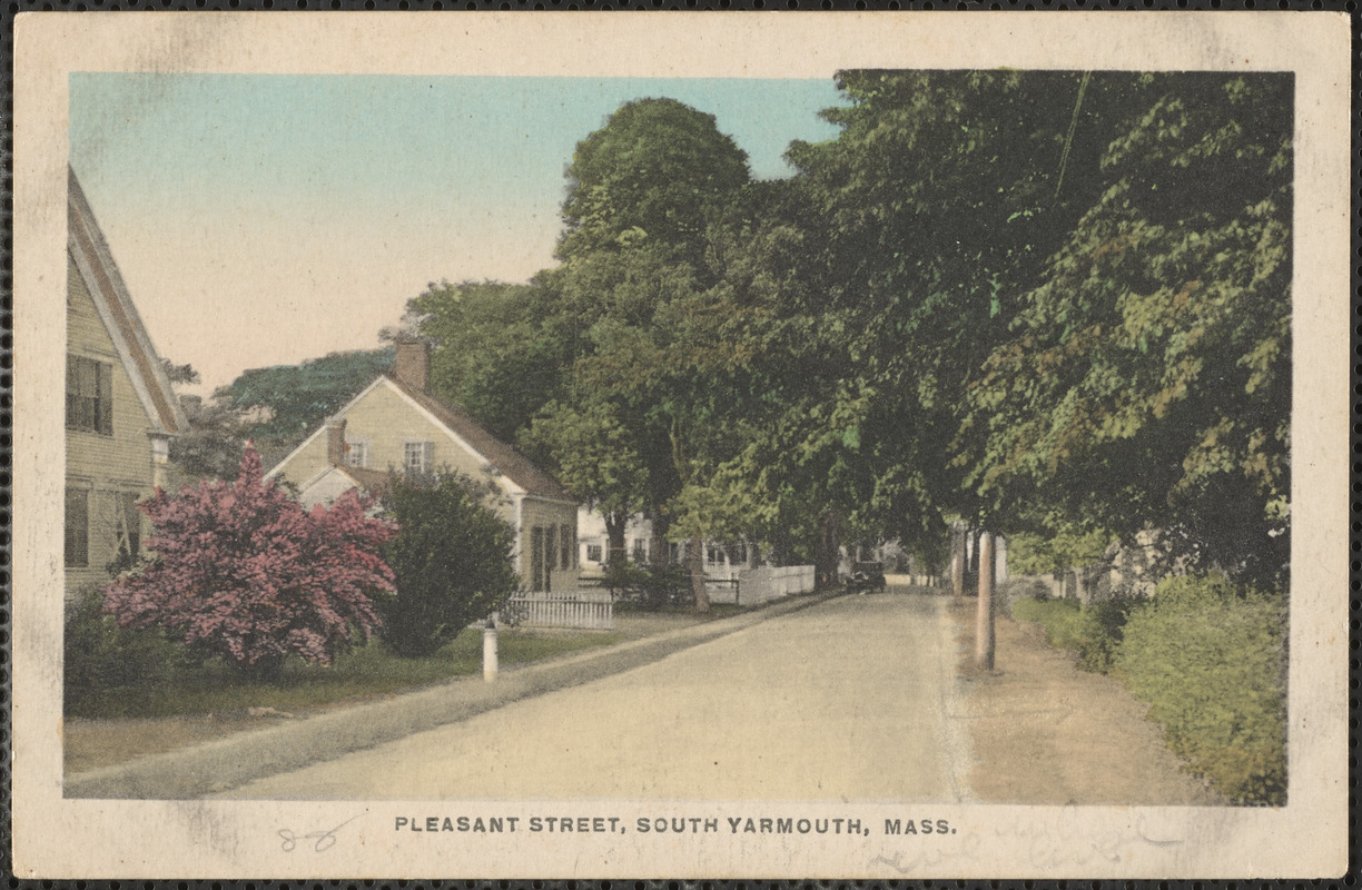 49 Pleasant St., South Yarmouth, Mass.