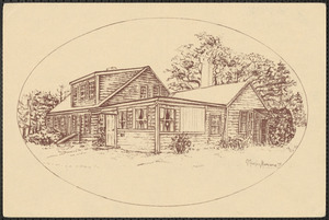 Sketch of St. David's Craft, Gift and Thrift Shop, South Yarmouth, Mass.