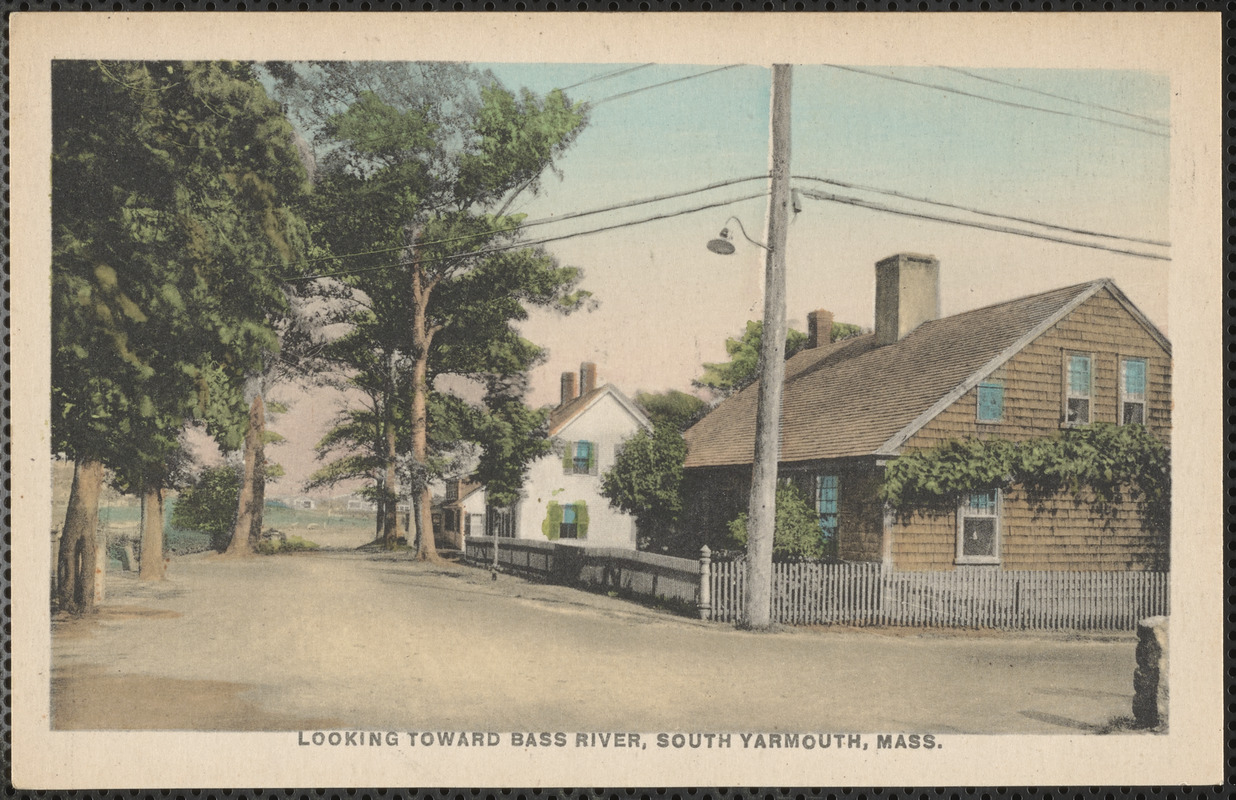 19 Union St., South Yarmouth, Mass., looking toward Bass River