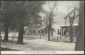 North Main Street, South Yarmouth, Mass with storefront and houses