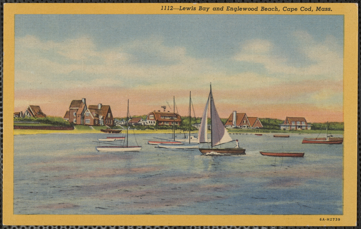Lewis Bay And Englewood Beach Cape Cod M