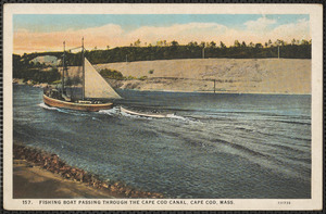 Fishing boat, Cape Cod Canal