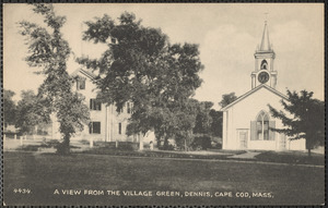 Union Church and Old School House, Dennis MA