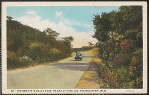 New State Road at tip end of Cape Cod