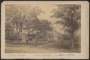 Cyrus Sears home in Ashby, Mass. 1860-1874