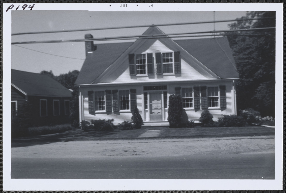 152 Old King's Highway, Yarmouth Port, Mass.