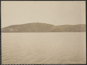 Scargo Lake with Scargo Tower, Dennis, Mass.