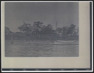 127 River St., South Yarmouth, Mass. with Bass River in foreground