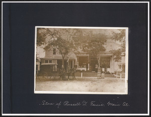 Store of Russell D. Farris, 11 North Main St., South Yarmouth, Mass.
