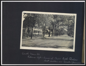 108 Old Main St., South Yarmouth, Mass. at left looking North