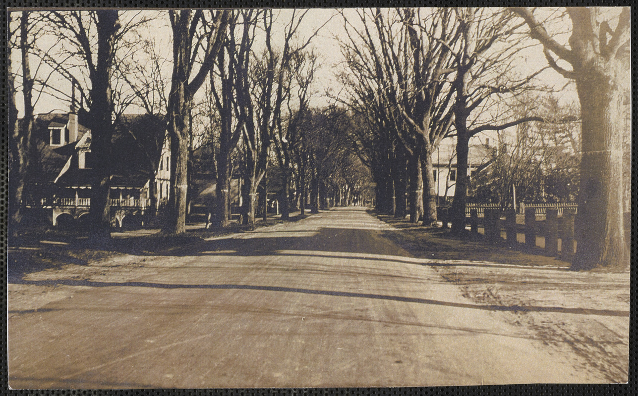 134 Old King's Highway (at left), Yarmouth Port, Mass.