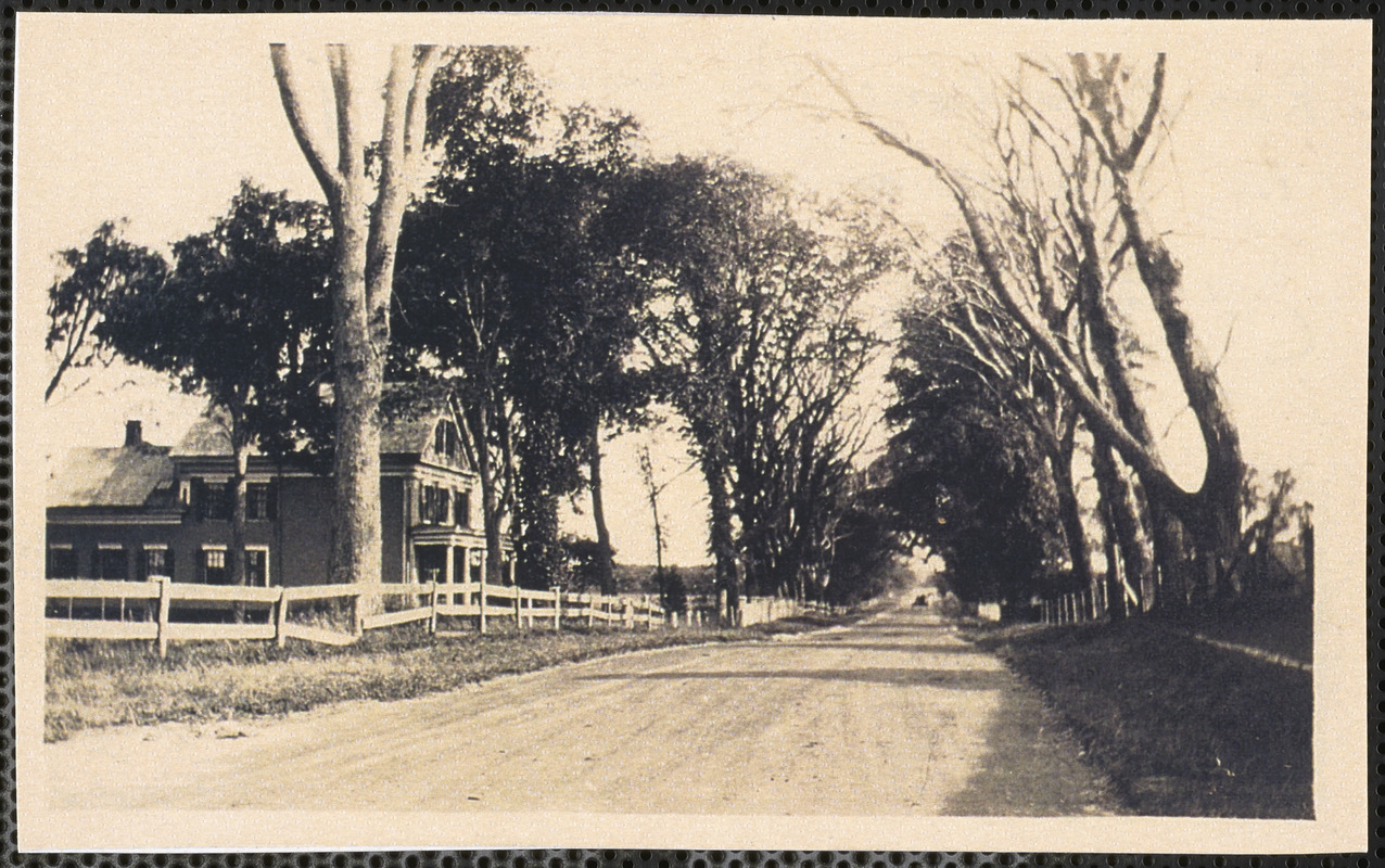 194 Center Street, road below the cemetery in Yarmouth Port, Mass.