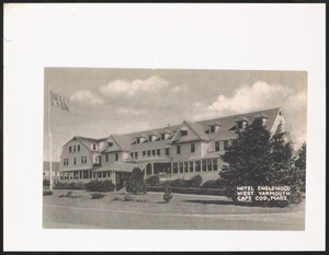 Hotel Engelwood, West Yarmouth, Mass.