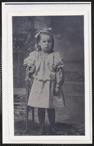 Bertha Tripp (1900-1989) as a child