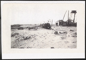 Parker's River campground after 1944 hurricane