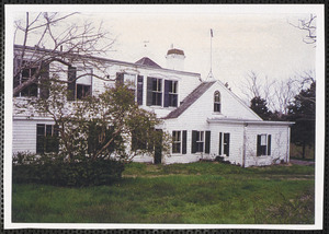 Corey House, 46 Uncle Robert's Rd., Great Island, West Yarmouth, Mass.